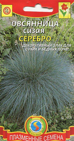 Семена Овсяница Сизая Лазурит
