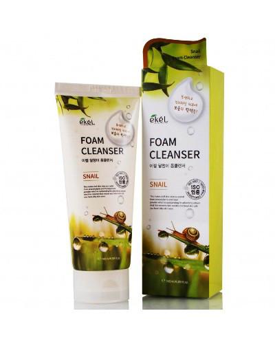 Пенка для умывания с экстрактом улитки Ekel Snail Foam Cleanser