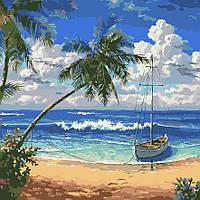 "Картина по номерам ""Райский остров"" 40*40см, фото 1"