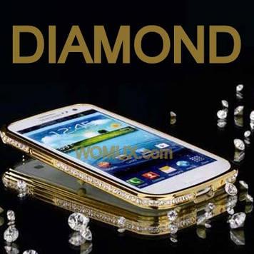 """SAMSUNG i9300/i9300i NEO DUOS Оригинальный бампер панель накладка для телефона """" BIG DIAMOND """""""
