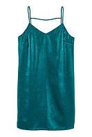 Платье H&M Satin Dress EUR 42