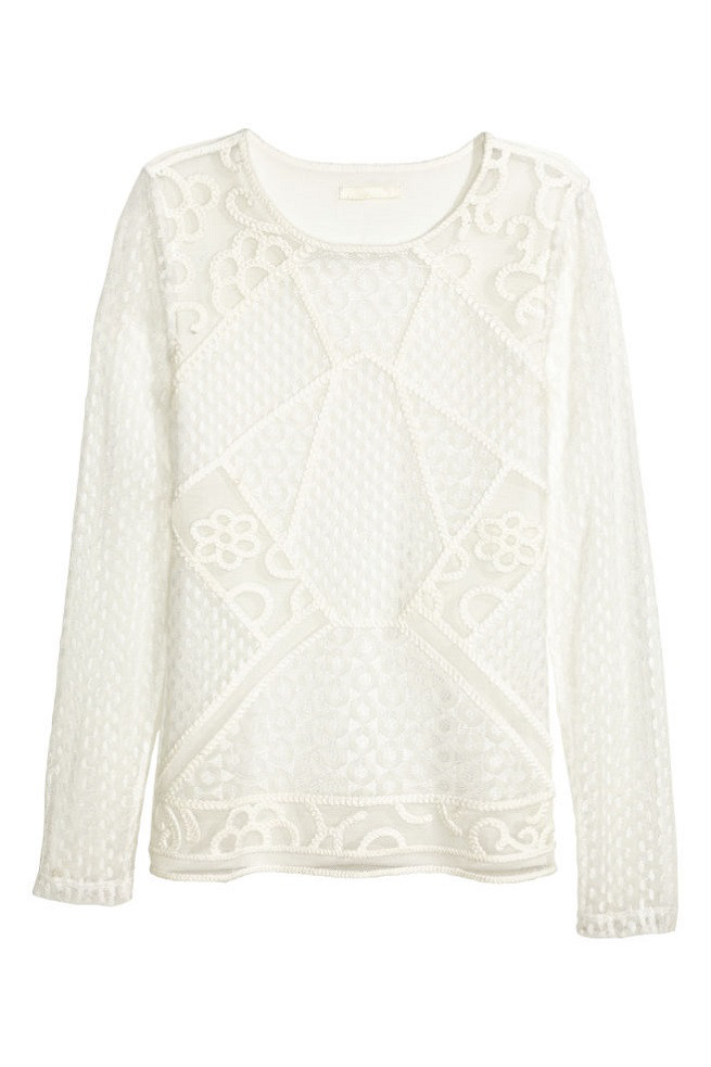 Блуза H&M Lace Top