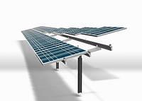 Кріплення для сонячних панелей наземне