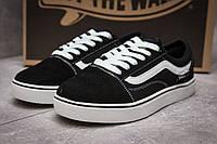Кроссовки женские Vans Old Skool, черные (13723),  [  39 40  ], фото 1