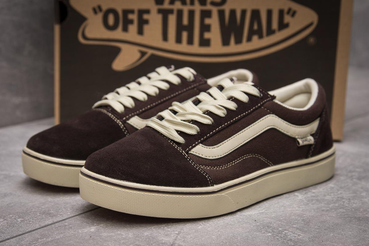 Кроссовки мужские  Vans Old Skool, коричневые (11037) размеры в наличии ► [  43 44  ] (реплика)
