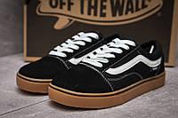 Кроссовки женские  Vans Old Skool, черные (13726) размеры в наличии ► [  39 40  ] (реплика), фото 1