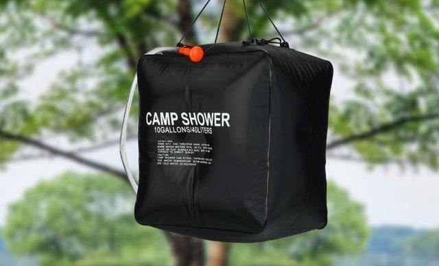 Туристичний переносний душ Camp Shower, душ для дачі на 40 літрів