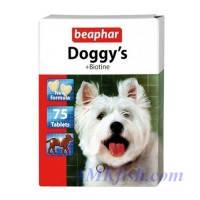 BEAPHAR Doggy's + Biotin витаминизированное лакомство для собак, 75т