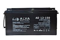 Аккумуляторная батарея ALVA AD12-150, фото 1