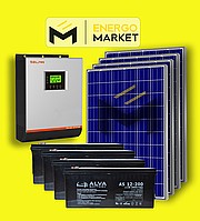 Автономная солнечная станция 10 кВт, фото 1