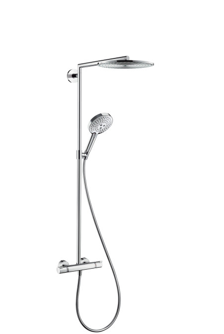 Душевая система Hansgrohe 27114000 Raindance Select 300 Air 1jet Showerpipe