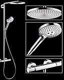 Душевая система Hansgrohe 27114000 Raindance Select 300 Air 1jet Showerpipe, фото 3