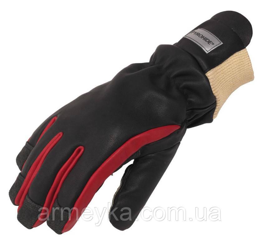 Вогнетривкі рукавички пожежного Firemaster® Fusion™, чорні. Великобританія, оригінал.