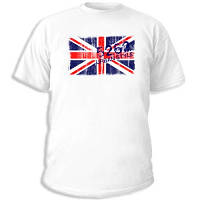 """Футболка с рисунком """"England Urban flag"""""""