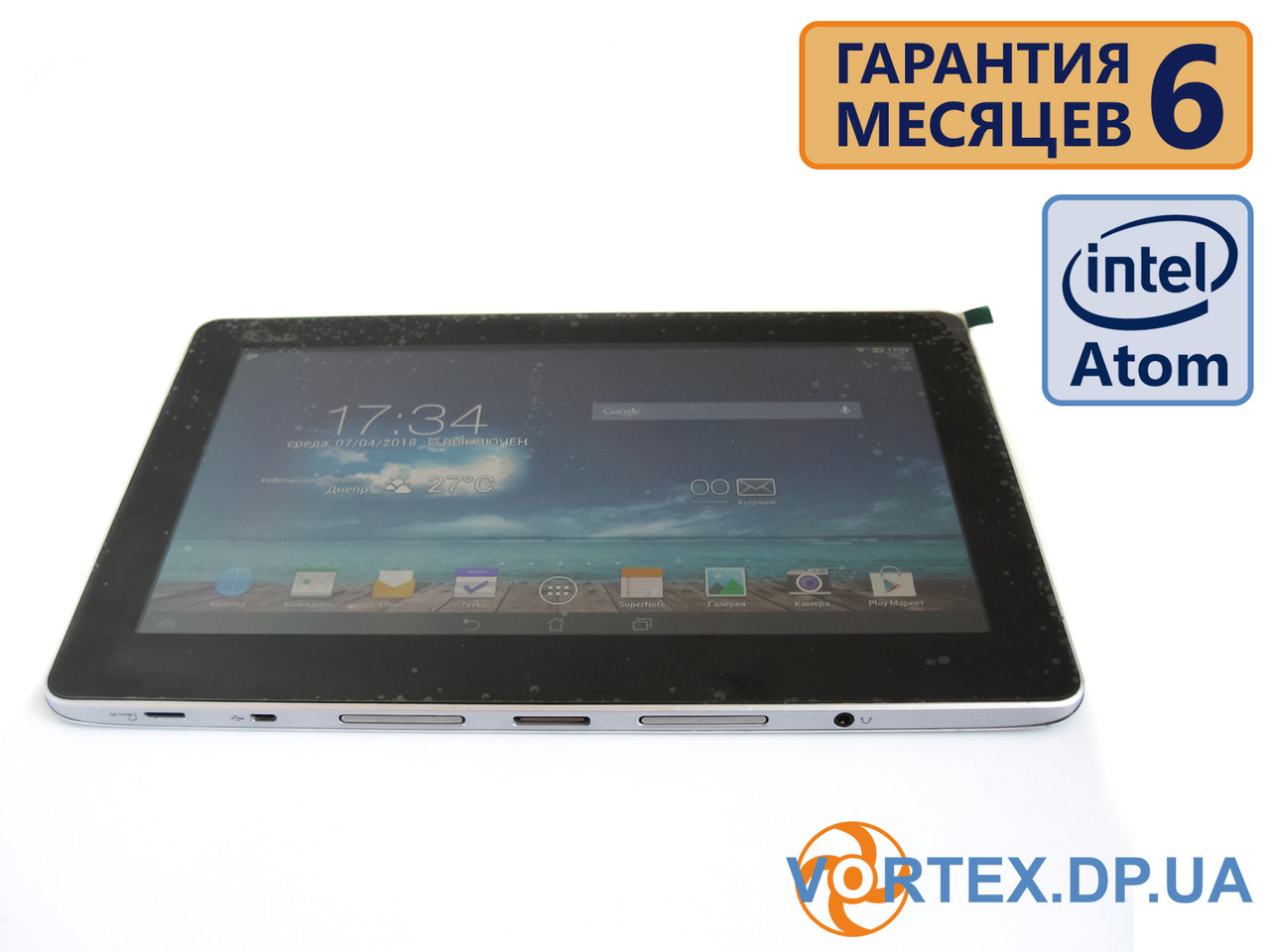 Планшет ASUS TX201LA 11.6 IPS (1920x1080) / Intel Atom Z2560 (2x1.6GHz