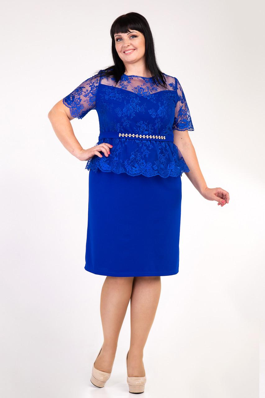 Нарядное платье с 52 по 58 размер  4цвета