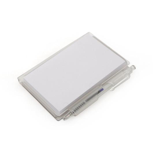 Блокнот мини ACADEMY с ручкой105x70x10 мм