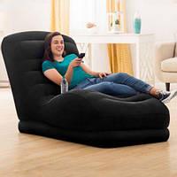 Надувное кресло лежак Intex 68595