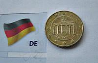 Евро Немецкие 10 евроцентов 2002 год (J), фото 1
