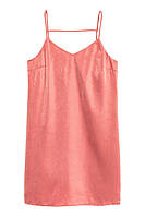 Платье H&M Satin Dress US 6