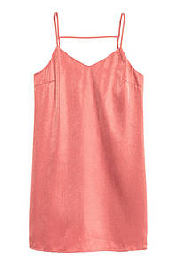 Платье H&M Satin Dress