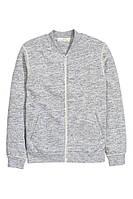 Кофта Sweatshirt Cardigan in Gray for Men