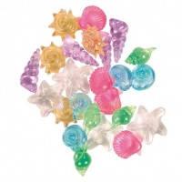 Trixie набор разноцветных ракушек, 24шт