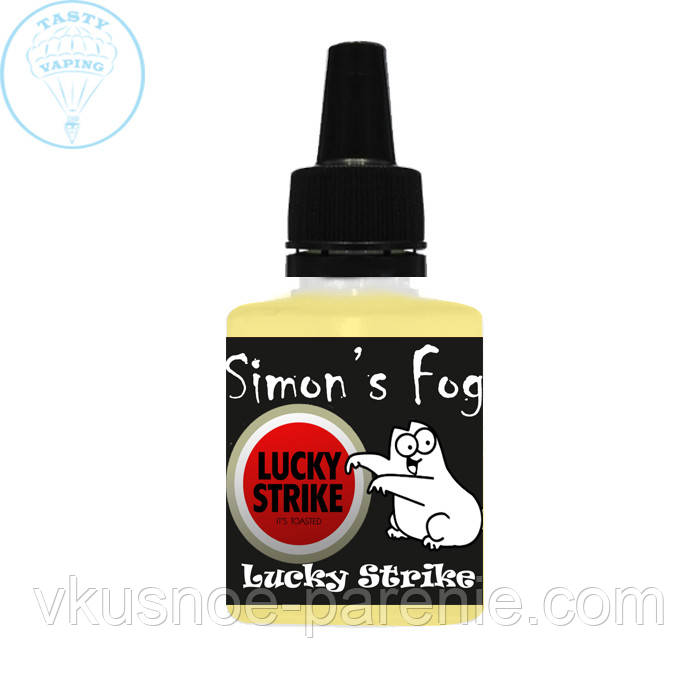 "Жидкость Simon's Fog ""Lucky Strike"" (Лаки Страйк)"