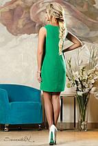 Женское платье с перфорацией спереди (2144-2141 svt), фото 3