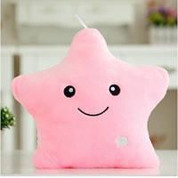 Декоративная подушка для сна Звезда - Розовая