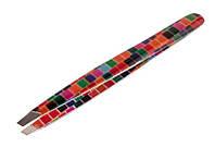 Пинцет для бровей KDS 01-3270, цвет в ассортименте