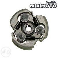 Сцепление (колодки, муфта) минимото, детский мотоцикл и квадроцикл, mini atv 3-колодочное  (алюминий), фото 1