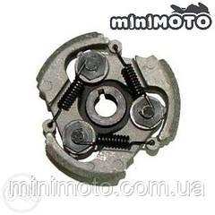 Сцепление (колодки, муфта) минимото, детский мотоцикл и квадроцикл, mini atv 3-колодочное  (алюминий)