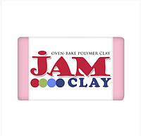 Полимерная глина Jam Clay Розовая (Розовое сияние) 20 грамм 1 шт