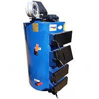 Твердопаливний котел тривалого горіння Ідмар CIC-38 c циліндричним теплообмінником