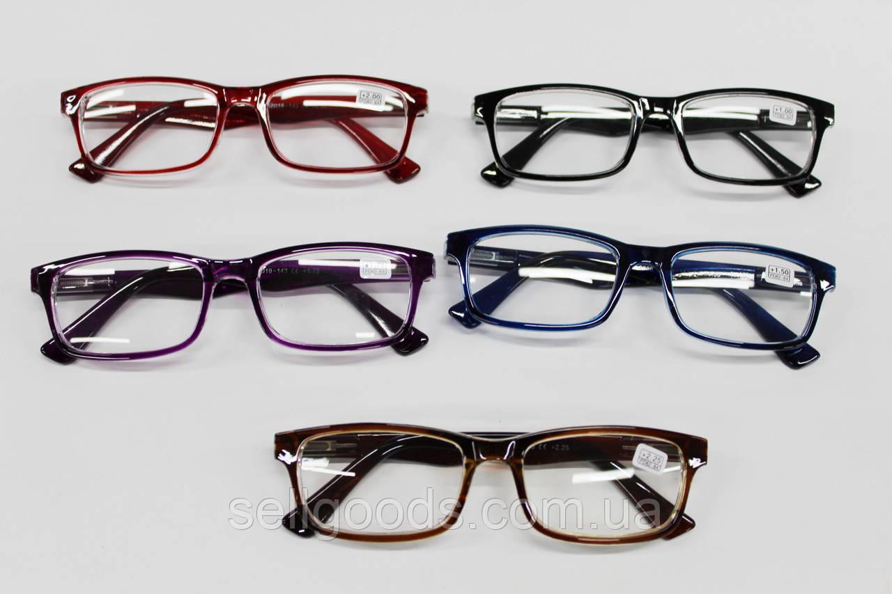 Очки для зрения +1+3 с флексами в чехле