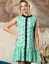 Женское легкое платье без рукавов (2143-2145-2147 svt), фото 2