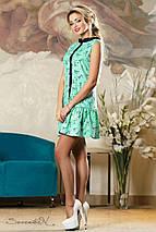 Женское легкое платье без рукавов (2143-2145-2147 svt), фото 3