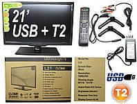"Новый Led телевизор Samsung BlackLight 21"" Т2 тюнер,HD Ready,dvb-t2"