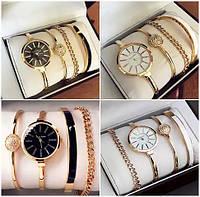 Часы в подарочной упаковке watch set AK gold white ANNE KLEIN