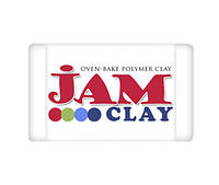 Полимерная глина Jam Clay Белый зефир 20 грамм 1 шт
