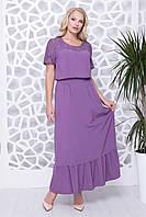 Нарядное летнее платье с 50 по 56 размеры
