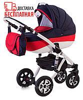 Детская коляска универсальная 2 в 1 Adamex Gloria