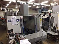 Вертикальный фрезерный обрабатывающий центр с ЧПУ MIKRON VCE 750