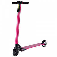 Электросамокат Freego карбоновый - розовый