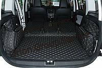 Автомобильные 3D Коврики в багажник для Skoda Yeti