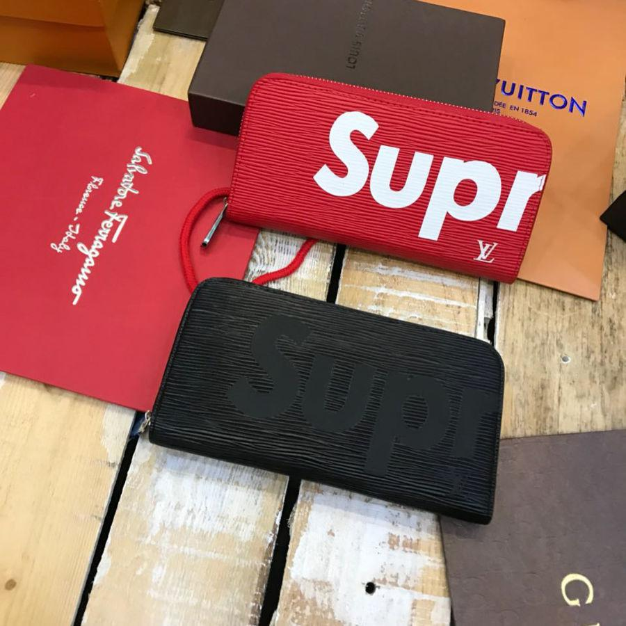c4bd0179bd78 Кошелек SUPREME от Louis Vuitton Черный — в Категории