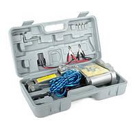 Домкрат электрический ромб, 2т; 12В INTERTOOL GT0310