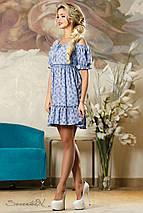 Женское летнее платье с разрезами на плечах (2148-2146-2149 svt), фото 2