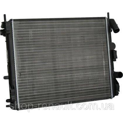 Радиатор системы охлаждения 1,4-1,6 MPI (с кондиционером) ASAM 70208 ОЕ 7700428082, 8200241088